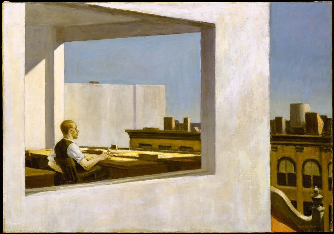Edward Hopper – Office in a Small City – The Metropolitan Museum of Art