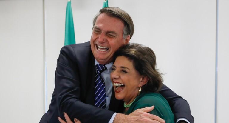 Leda Nagle e Bolsonaro – Kotter Editorial